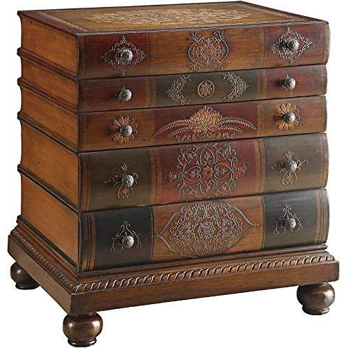 Crestview Collection Library 3-Drawer Chest (Chest Drawer Painted 3)