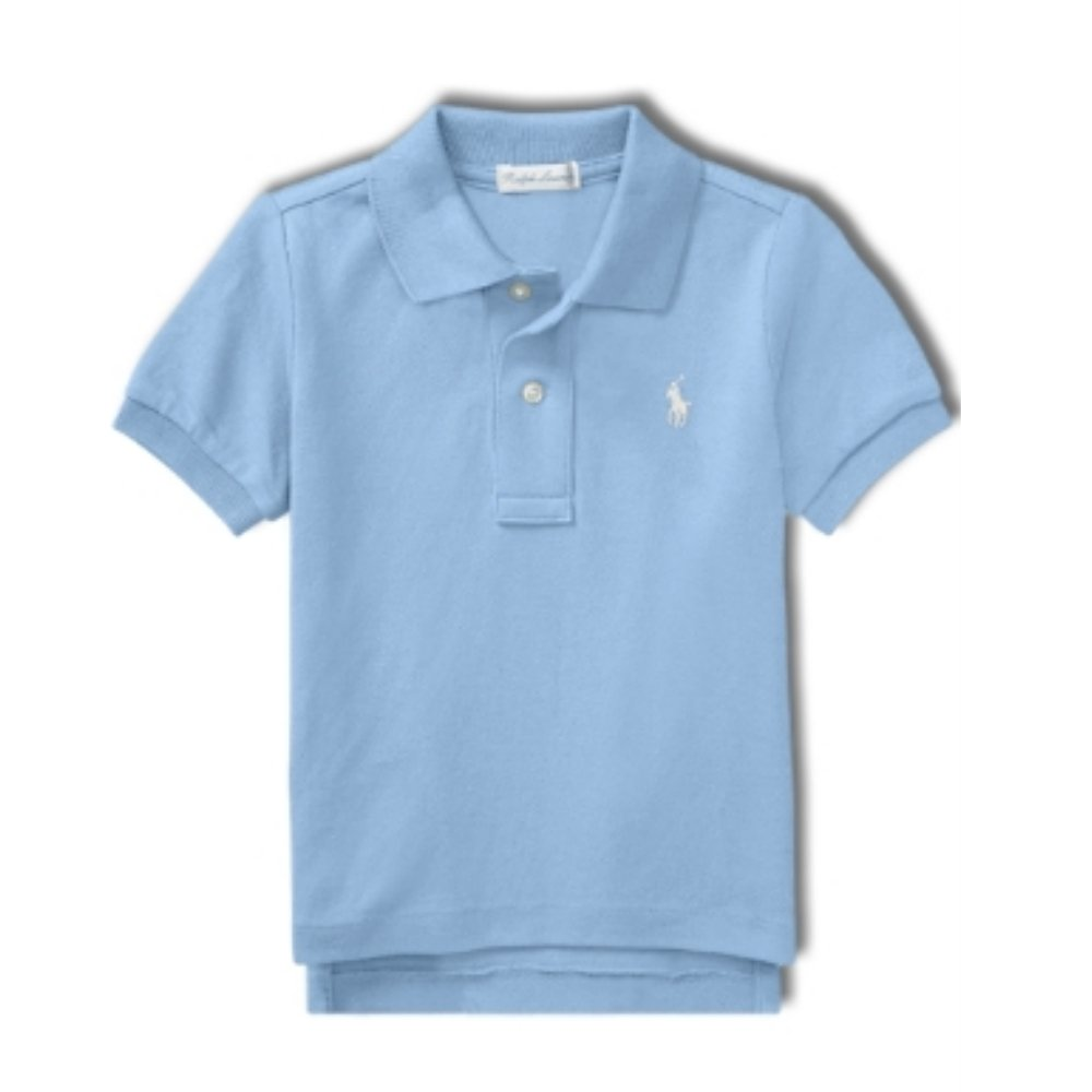 Ralph Lauren Genuine Baby Boys Polo T Shirt Cruise Blue 24 mths