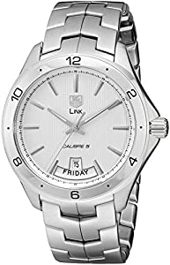 TAG Heuer Men's WAT2011.BA0951 Link Silver Dial Watch