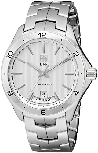 TAG Heuer Men's WAT2011.BA0951 Link Silver Dial Watch ()