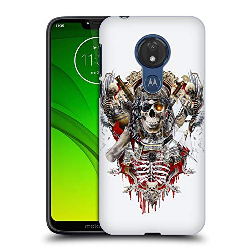 (Official Riza Peker Pirate Skulls 7 Hard Back Case Compatible for Motorola Moto G7 Power)