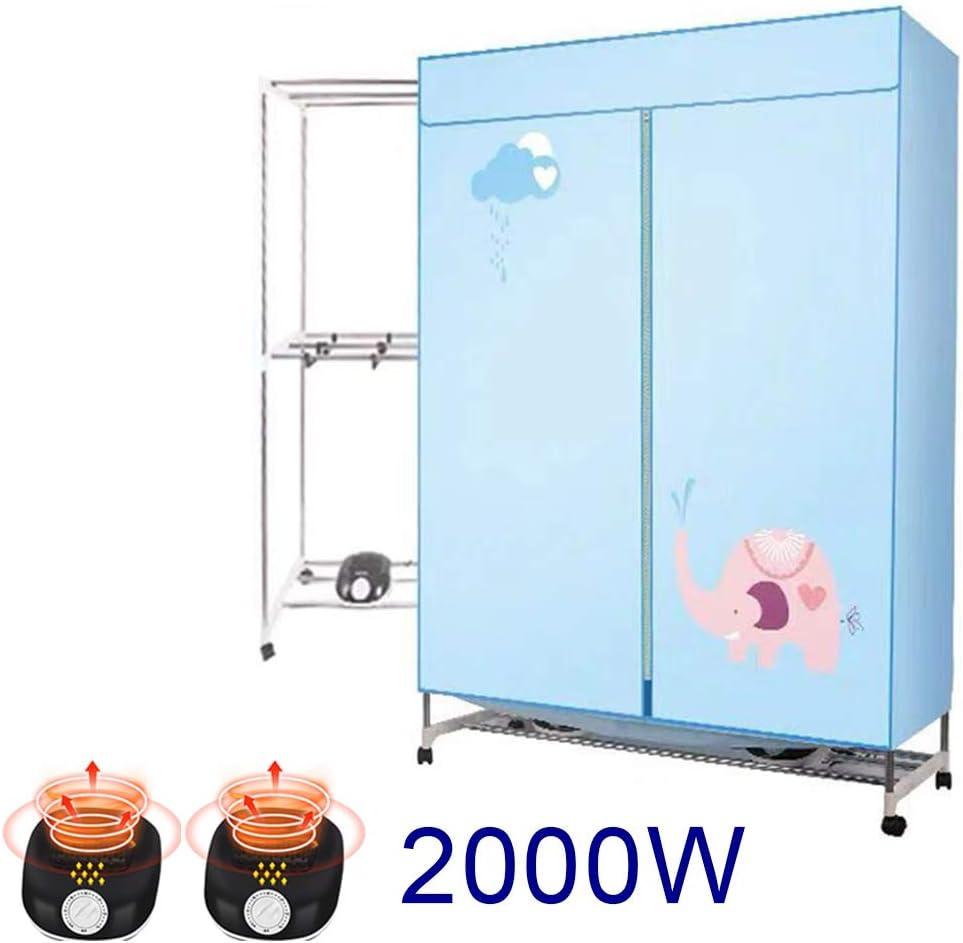 Secadora De Ropa Eléctrica 2000W De Gran Capacidad 20kg Tiempo De Eficiencia Energética Lavado Húmedo En Interiores Armario De Secado con Aire Caliente