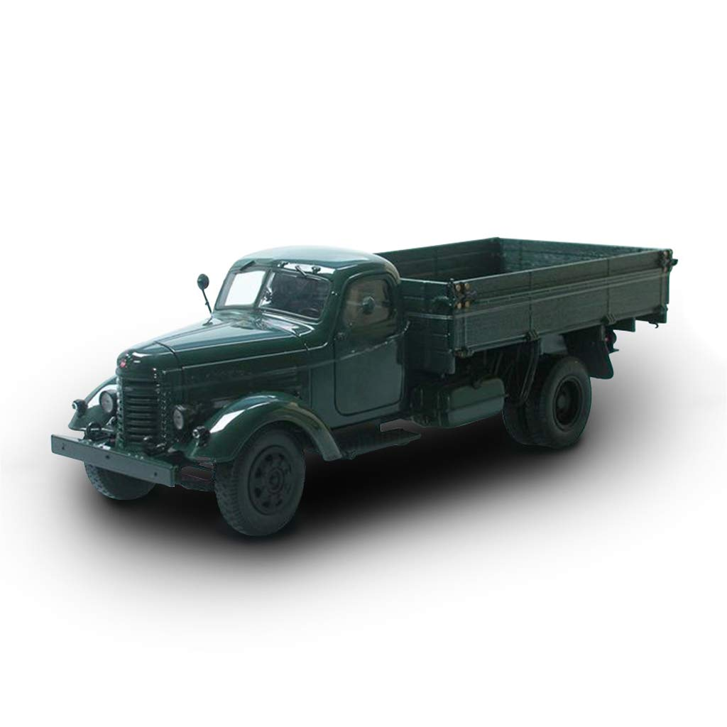 LIUFS-Alloy Car FAW Old Liberation Truck CA10 Engineering Vehicle Simulation Alloy Car Model 1:32 Ornaments ( Color : Green )