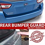 CloudWorks Rear Bumper Trunk Applique Paint Protection Clear Bra Film for 2009-2011 Jaguar XF