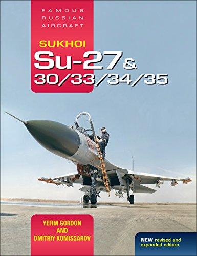Su 27 Russian Air (Sukhoi Su-27 & 30/33/34/35: Famous Russian Aircraft)
