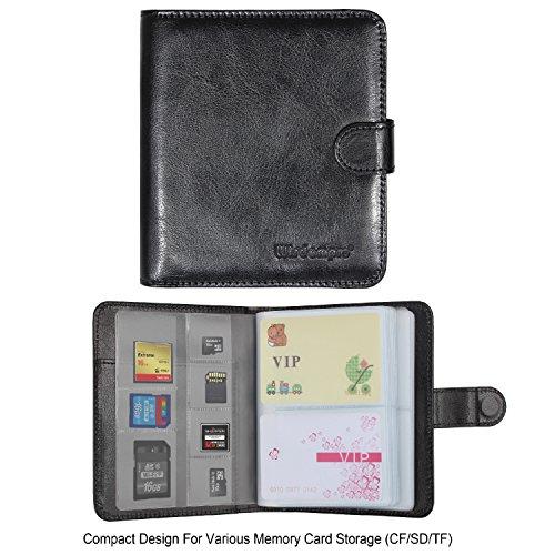c4404d5b776b well-wreapped Business Card Book Organizer, Wisdompro Premium PU ...