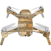 Skin For Yuneec Breeze 4K Drone – Reclaimed Wood | MightySkins Protective, Durable, and Unique Vinyl Decal wrap cover | Easy To Apply, Remove, and Change Styles | Made in the USA