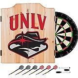 NCAA UNLV dart cabinet with Board
