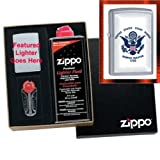 """U.S. Coast Guard Eagle"" Zippo Lighter Gift Set"