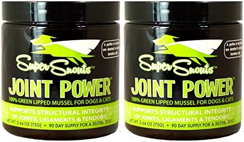 Super Snouts Lipped Mussel Powder Supplement – 2 PACK by Diggin Your Dog