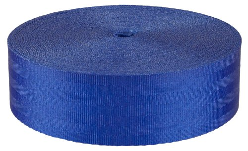 2 Inch Royal Blue Seat-belt Webbing Closeout, 50 Yards by Unknown