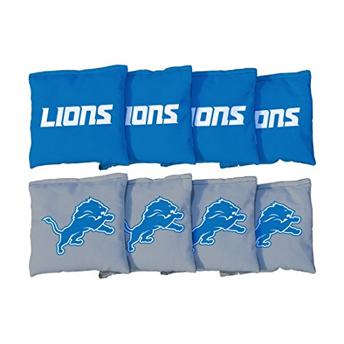 Detroit Lions Professional Football - Detroit Lions NFL Cornhole Game Bag Set (8 Bags Included, Corn-Filled)