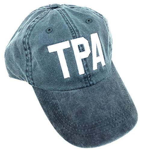 Custom Embroidered TPA Tampa International Airport Code Hat (Pigment Dyed ()