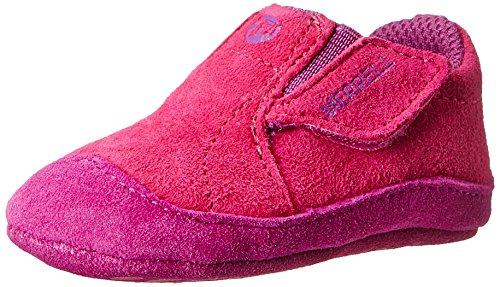 Merrell Kids Baby Girl's Jungle Moc Baby (Infant/Toddler) Fuchsia Boot 2 Infant ()