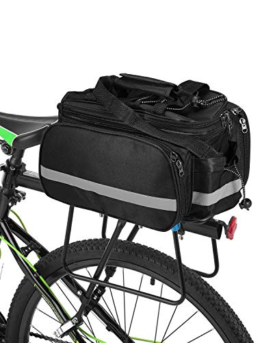 Sports & Entertainment Scratchproof Outdoor Cycling Handbag Bicycle Storage Pannier Bike Saddle Rack Rear Seat Bag Shoulder Cycling Bag #s