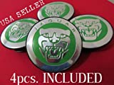 xj wheel center caps - 4pcs. NEW JAGUAR S TYPE X TYPE XJ8 XK8 XKR WHEEL CENTER CAP GREEN LETTERS
