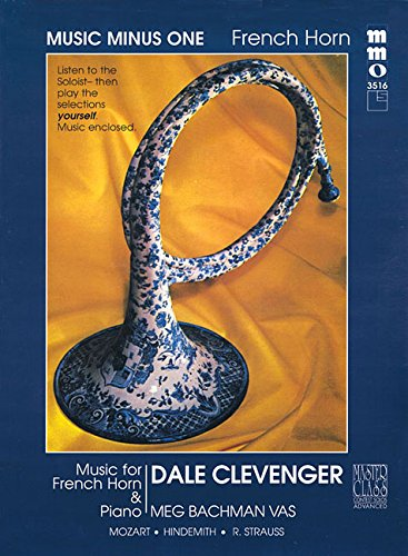 Music Minus One French Horn: Advanced Contest Solos Vol.II