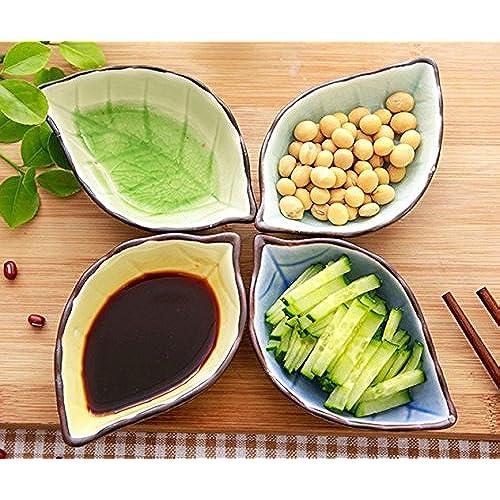 Stock Show 4Pcs Multipurpose Ceramic Seasoning Dishes Appetizer Plates Multicolor Porcelain Saucers Bowl Dinnerware Set for Vinegar/Salad Soy ...  sc 1 st  Amazon.com & Fish Dinnerware Set: Amazon.com