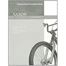 Saxon Intermediate 3: Homeschool Testing Book