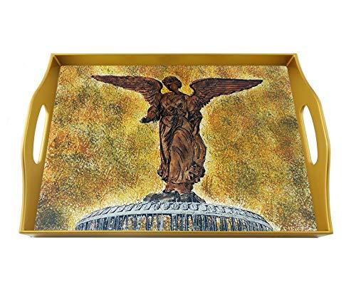 (Rectangular serving tray - Bethesda fountain)