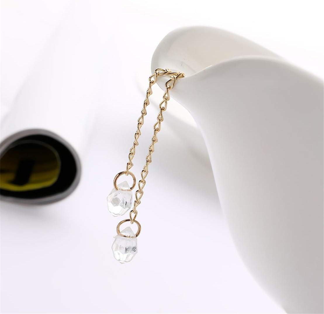 Kissherely Cristal Noeud Papillon Boucles doreilles /à Long Pompon Strass Boucles doreilles Pendantes Bijoux Accessoires Cadeau pour Les Femmes