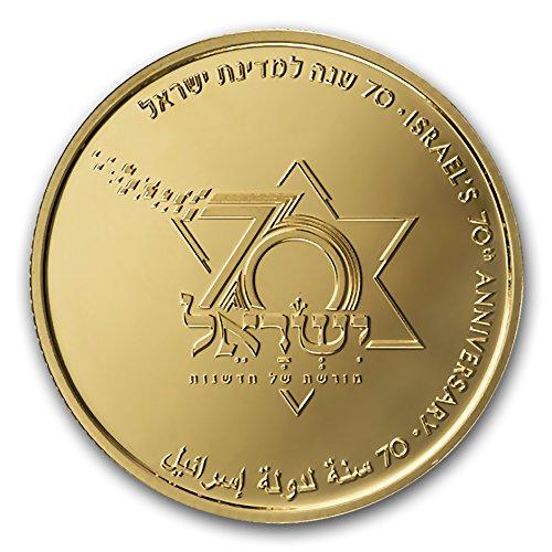 2018 IL Israel Gold 10 NIS Israel