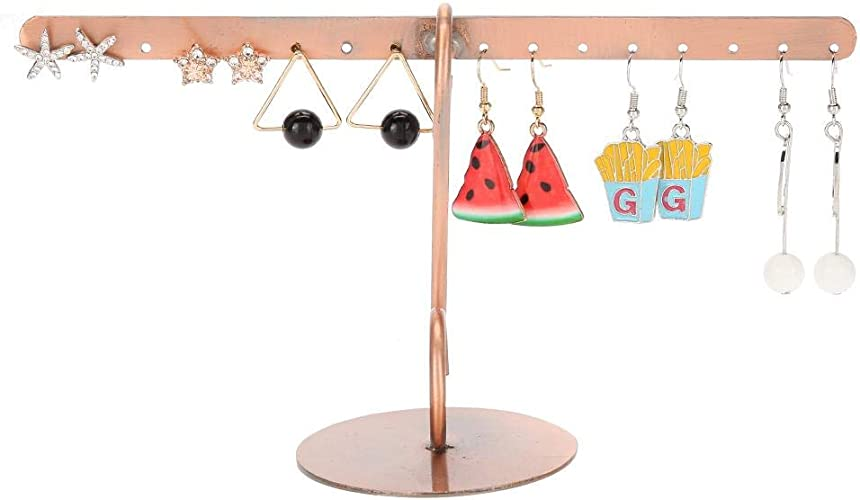 SINGLE METAL T-STAND JEWELRY DISPLAY