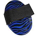 Roma Zebra Curry Comb One Size blue