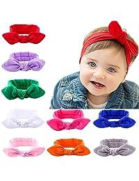 Itaar Baby Girl's Headband Mix Color Lovely Elastic Hairband Headwrap