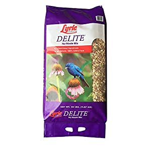 Lyric 2647462 Delite High Protein No Waste Wild Bird Mix - 20 lb. 24