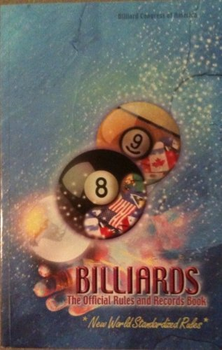 Billiards: The Official Rules and Records Book 2000 (World-Standardized Rules) by Billiard Congress of America (2000-01-31)