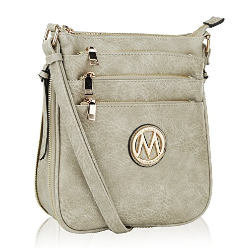 Cross Body Vegan Leather Crossbody Bag for Women | Crossover Purse Handbag Satchel | bolsas de Mano para Mujer