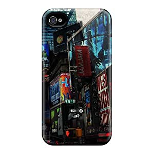 New Customized Design Times Square For Iphone 6 Cases Comfortable For Lovers And Friends For Christmas Gifts