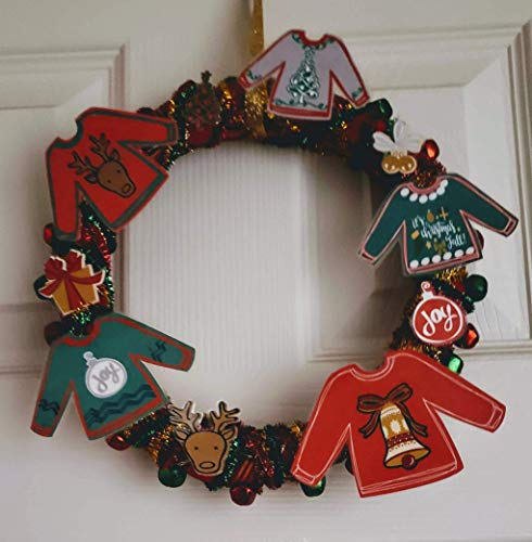 Ugly Sweater Wreath