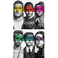 Strange Posters The Umbrella Academy American Superhero Web Television Series Multicolor 12 x 18 Inch Poster SPTU11