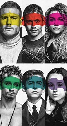Strange Posters The Umbrella Academy American Superhero Web Television Series Multicolor 12 x 18 Inch Poster -
