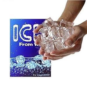 JSM Magic Trick Ice From Water Magic Close-up Magic Street Magic props magic toys