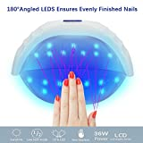 UV Led Gel Nail Lamp with Automatic Cooling