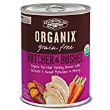 Castor & Pollux Organix Butcher & Bushel Organic Carved Turkey Dinner with Carrots & Sweet Potatoes Wet Dog Food, 12.7 oz., Case of 12 Cans