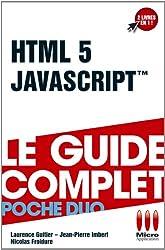 POCHE DUO£JAVASCRIPT ET HTML 5