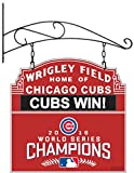 Chicago Cubs 2016 World Series Indoor/Outdoor Wall Mount Bar and Tavern Sign