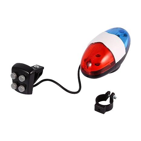 Dioche Ciclismo Cuerno Bell, PráCticas De Seguridad 6 LED De ...