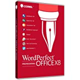 Corel WordPerfect Office X8 Professional Edition for PC - Upgrade (Old Version)