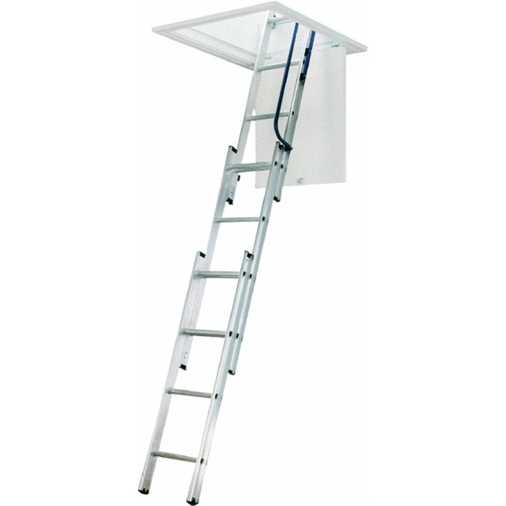 WERNER LADDER AA1510 Ladder Aluminum Attic, 250 lb. by Werner Ladder