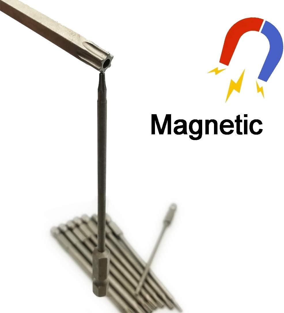 2 inch length 12Pcs 1//4 Hex Shank Magnetic Cross Phillips Screw Head Screwdriver Bits Electric Screwdriver Set Power Tools LEROM Phillips Cross Screwdriver Bits