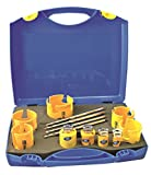 ProFit 1018 0161520CT Carbide Tipped Multi Purpose Kit with Accessories QLH1MP/QLH2MP/QLH1MPCT/QLH2MPCT, Blue, 17-Piece