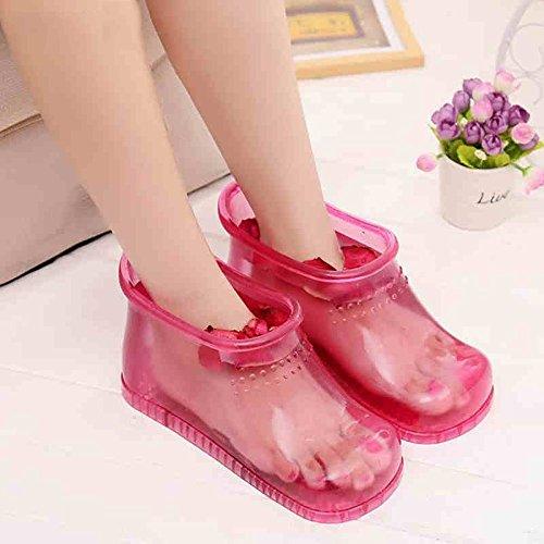 Per Domestico Pistole Da Donna A Creative Haizhen Il Scarpe Color Calzature Bagno Piede Massaggio Pantofole Femminili 2 0XTpqw