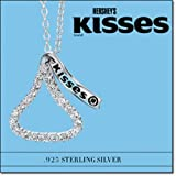Avon Sterling Silver Hershey's Kisses Necklace