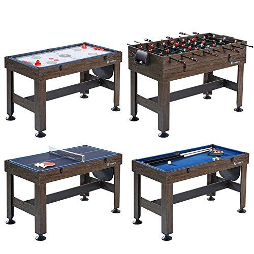"MD Sports CBF054_058M 54"" 4-in-1 Multi Game Combination Table"