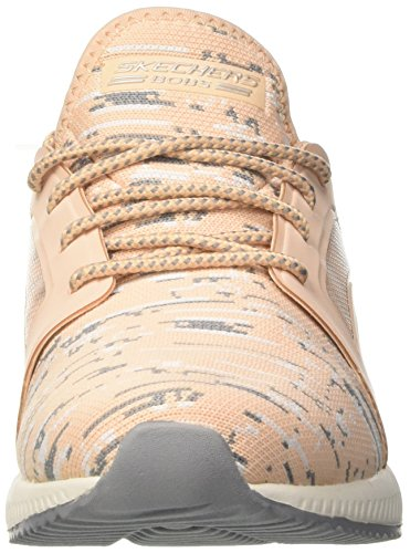 Skechers Squad Bobs Enfiler Baskets Double Femme Dare 0CU6CwPqx